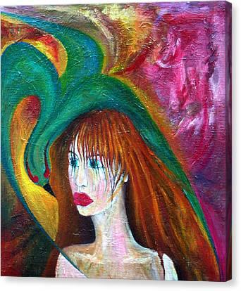 Indifference  Canvas Print by Wojtek Kowalski
