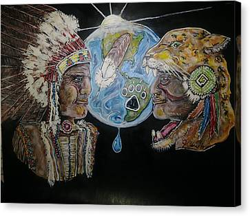 Indigenous Dawn Canvas Print