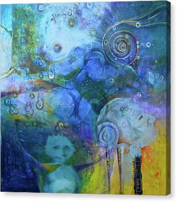 Inner Self Canvas Print - Indigenous Life by Blima Efraim