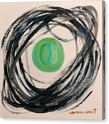 Indigo Capture Canvas Print by John Williams