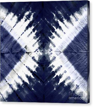 Indigo II Canvas Print by Mindy Sommers