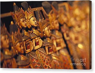 Indonesian Dolls Canvas Print by Dana Edmunds - Printscapes
