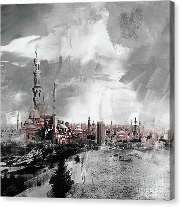 Indonesian Landscape 02a Canvas Print by Gull G