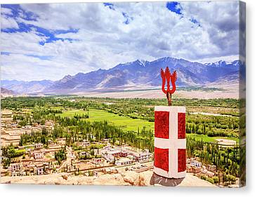 Canvas Print featuring the photograph Indus Valley by Alexey Stiop