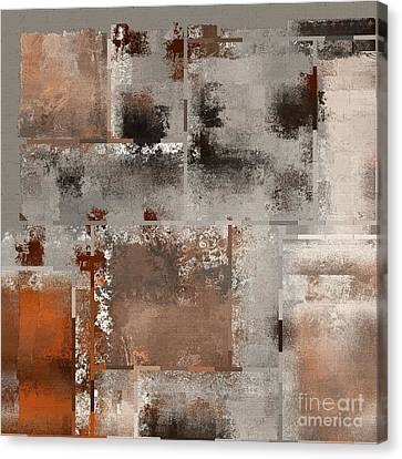 Industrial Abstract - 01t02 Canvas Print
