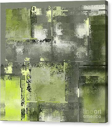 Industrial Abstract - 11t Canvas Print