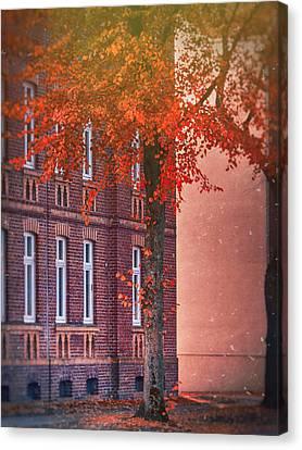 Industrial Autumn Canvas Print by Nicole Frischlich