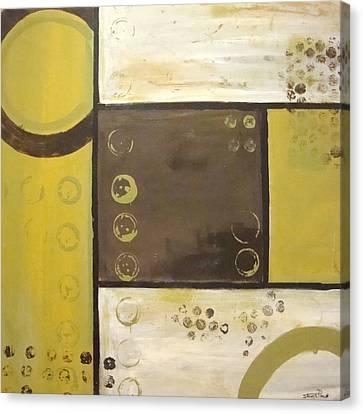 Industrial Circles No.2 Canvas Print