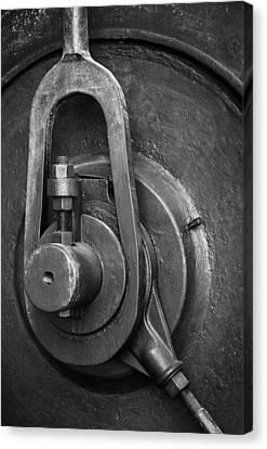 Bolts Canvas Print - Industrial Detail by Carlos Caetano