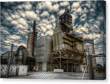 Industrial Disease Canvas Print