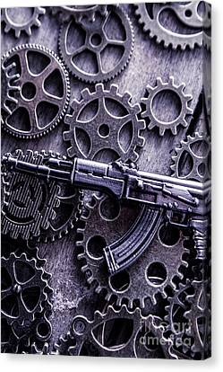 Industrial Firearms  Canvas Print by Jorgo Photography - Wall Art Gallery
