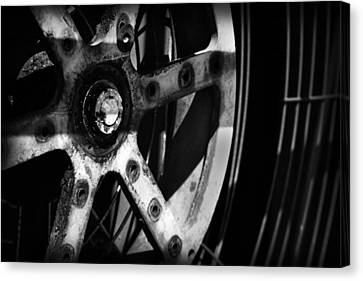 Industrial Gear Canvas Print