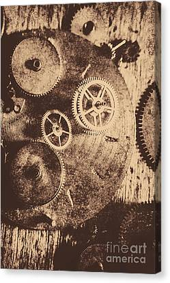 Industrial Gears Canvas Print