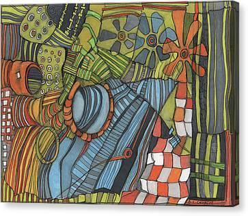 Industrial Landscape Canvas Print