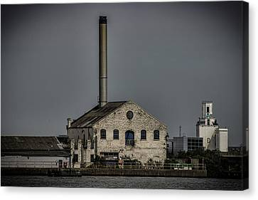Industrial Canvas Print by Martin Newman