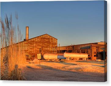 Industrial Site 1 Canvas Print by Douglas Barnett