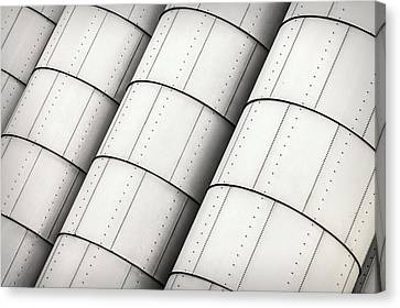 Storage Tanks Canvas Print by Todd Klassy