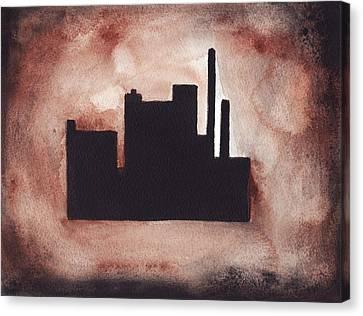 Industry City Canvas Print
