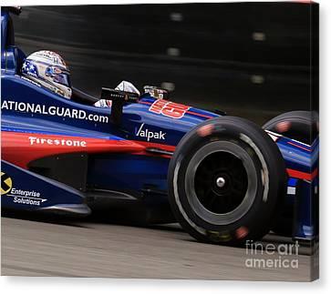 Indycar Motorsports Canvas Print by Douglas Sacha