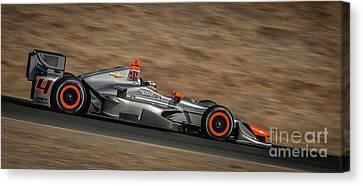 Indycar 2015 Canvas Print by Webb Canepa