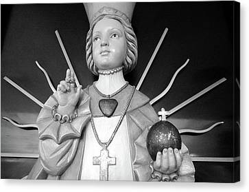 Infant Of Prague Canvas Print by Jeanette O'Toole