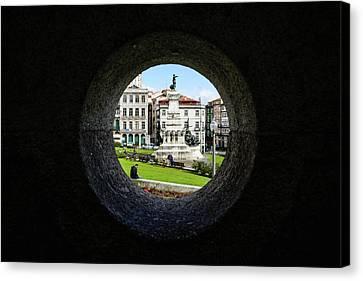 Infante Dom Henrique Square Canvas Print