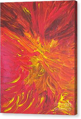 Inferno Canvas Print by Shelly Wiseberg