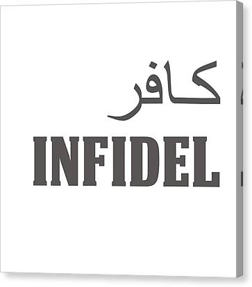 Infidel Canvas Print by Linda Bissett