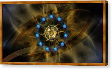 Infinite Lotus Canvas Print by Kenneth Armand Johnson