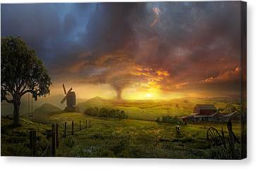 Infinite Oz Canvas Print