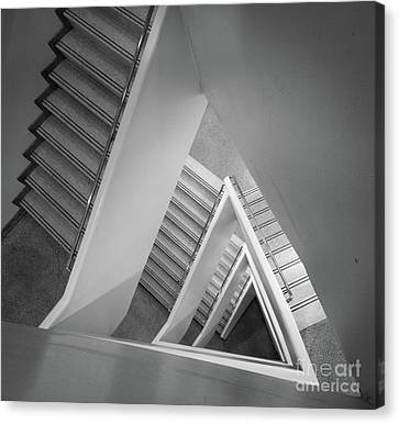 Guggenheim Canvas Print - Infinite Stairs by Inge Johnsson