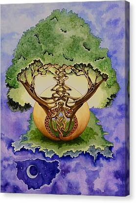 Infinitree Canvas Print by Joyce Hutchinson