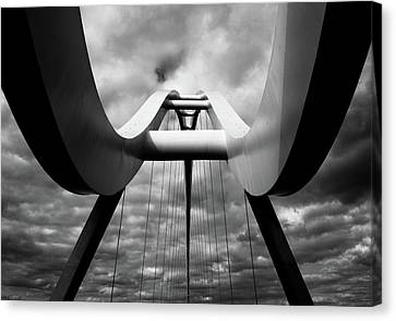 Infinity Bridge Canvas Print by Paul Myers-Bennett