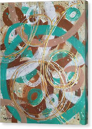 Infinity  Canvas Print by Brittany Houchin