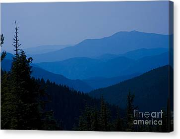 Mountain Valley Canvas Print - Infinity by Idaho Scenic Images Linda Lantzy