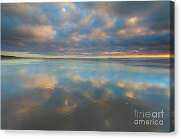 Infinity Pool Canvas Print by Mike Dawson
