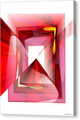 Infinity Tunnel  Canvas Print by Thibault Toussaint