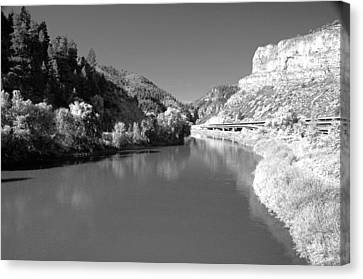 Infrared Black And White Canvas Print by James Steele