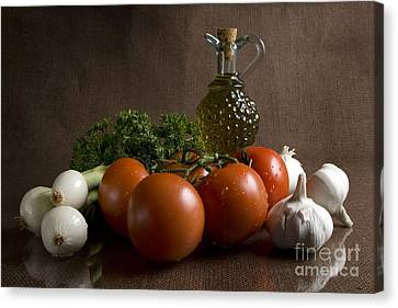 Ingredients Canvas Print by Jeannie Burleson