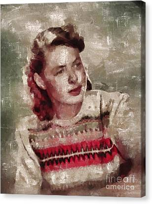 Ingrid Bergman, Actress Canvas Print