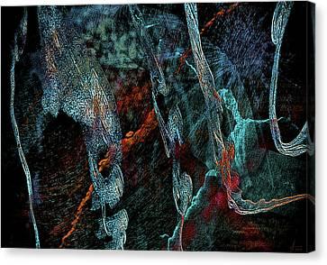 Inhabited Space Canvas Print by Alex Galkin