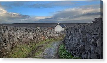 Inis Mor Country Canvas Print by Betsy Knapp