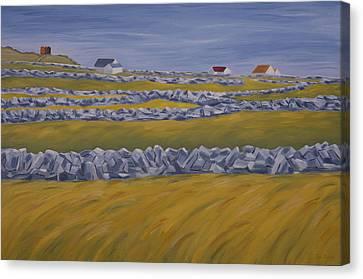 Inish Mor Canvas Print