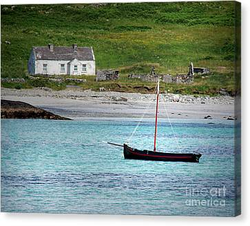 Inishbofin Boat Canvas Print