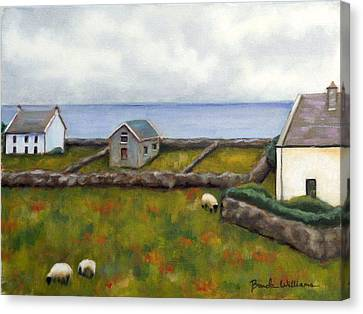 Inishmore Island Canvas Print by Brenda Williams