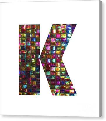 Initial Identity K Kk Kkk Alpha Alphabet Decorations Signature At By Navinjoshi From Canada At Fine Canvas Print