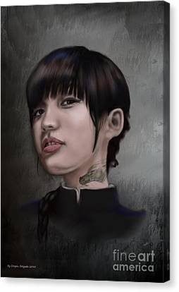 Initiated Canvas Print by Crispin  Delgado
