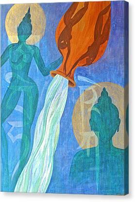 Initiation Canvas Print by Jennifer Baird