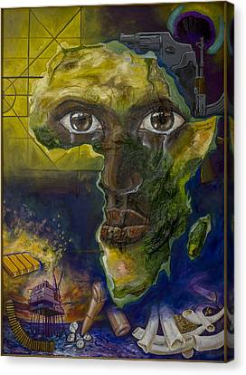Injustice Canvas Print