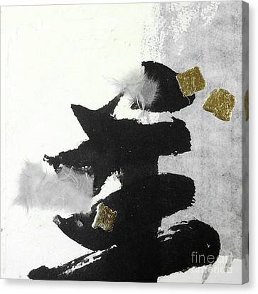Ink Collage 4 Canvas Print
